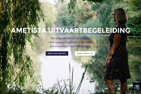 Ametista Uitvaartbegeleiding Nieuwe website